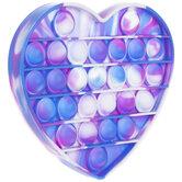 Tie-Dye Heart Pop Pop