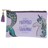 Mermaid & Unicorn Zipper Bag