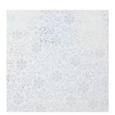 White & Iridescent Filigree Gift Wrap