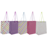 Bright Patterned Gift Bags