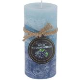 Wild Blueberries Pillar Candle