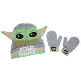 Baby Yoda Toddler Hat & Mittens