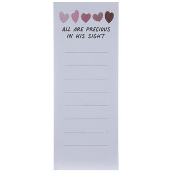 All Are Precious Magnetic Notepad