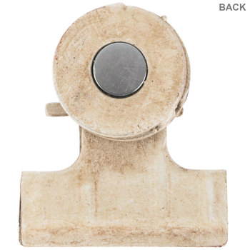 Distressed White Magnetic Clip