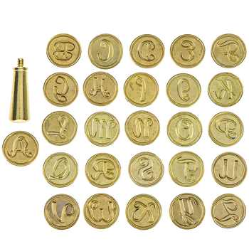 Alphabet Wax Seal Kit