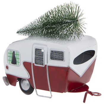 Camper & Tree Ornament
