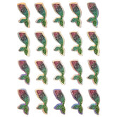 Mermaid Tail 3D Stickers