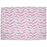 Pink & White Chevron Placemat