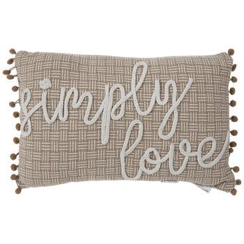 Simply Love Pom Pom Pillow