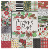 Poppies & Pines Cardstock Paper Pack