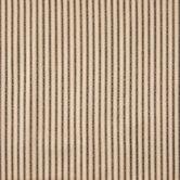 Prairie Girl Striped Ecru Cotton Calico Fabric
