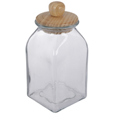 Square Glass Canister