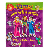Super Girls Of The Bible Sticker & Activity Book