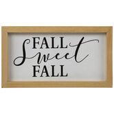 Fall Sweet Fall Wood Decor