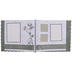 Farmhouse Scrapbook Album Kit - 12