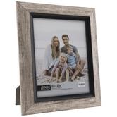 "Silver & Black Angled Frame - 8"" x 10"""