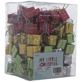 Mini Foil Gift Box Ornaments