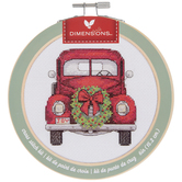 Christmas Truck Cross Stitch Kit