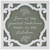 Start In The Kitchen Wood Wall Decor