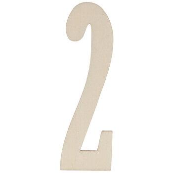 Vintage Sign Wood Numbers - 2