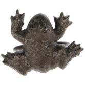 Antique Gold Frog Metal Napkin Ring