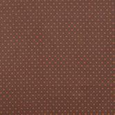 Brown & Orange Starlight Cotton Calico Fabric