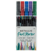 Fine Tip Paint Markers - 5 Piece Set