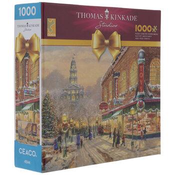 Thomas Kinkade Winter Toy Store Puzzle