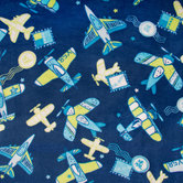 Air Post Velvet Fleece Fabric