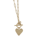 Link Chain Heart Necklace