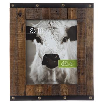 Studded Fence Wood Wall Frame