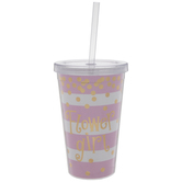 Flower Girl Striped Confetti Cup