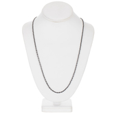 """Cable Chain Necklace - 30"""""""