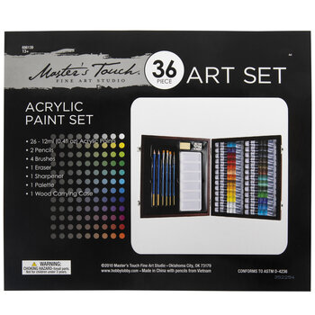 Acrylic Paint Set - 36 Pieces