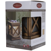 Wood Lantern Fragrance Warmer
