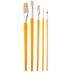 Bristle Art Paint Brushes - 5 Piece Set