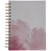 Today Is A Great Day Watercolor Notebook