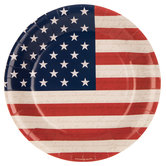 Stars & Stripes Paper Plates - Large