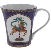Reindeer Carousel Mug