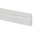 Miniature White Notched Baseboards