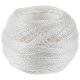 8 White DMC Pearl Cotton - 5