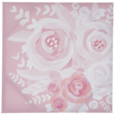 Pink & White Roses Canvas Wall Decor