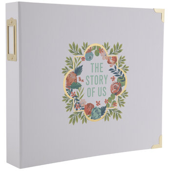 "The Story Of Us 3-Ring Scrapbook Album - 12"" x 12"""