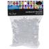 Crystal Sunburst Plastic Beads