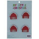 Barn Mini Ornaments