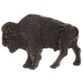 Bronze Bison Metal Wall Decor