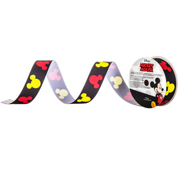 Mickey Mouse Grosgrain Ribbon - 1""