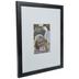 Black Matte Flat Wood Wall Frame - 11