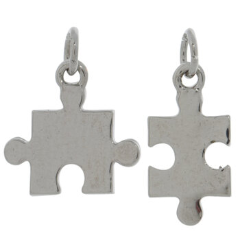 Puzzle Piece Charms