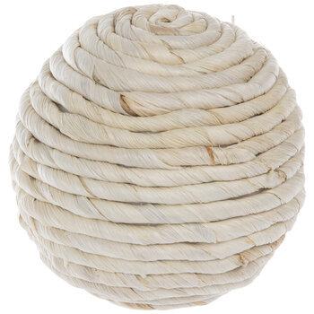 Corn Husk Decorative Sphere